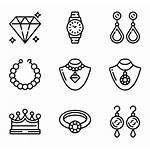 Jewelry Vector Earrings Clipart Svg Icons Icon
