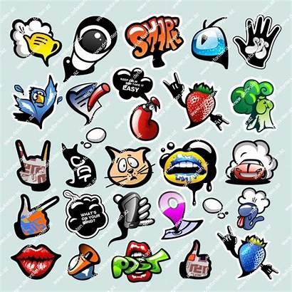 Graffiti Animasi Grafiti Icons Creative Terbaru Gambar