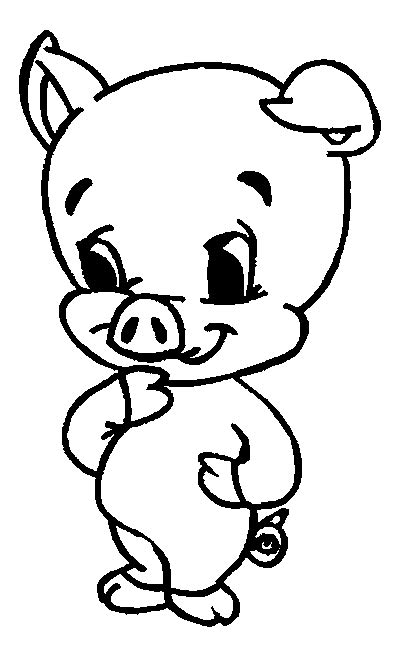 chambre en 3d coloriage cochons cochons 4 à colorier allofamille