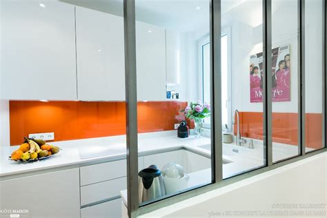 am駭agement cuisine en u aménagement cuisine en u design italien finition laque blanc brillant sk concept côté maison