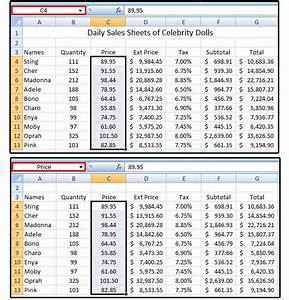 Sales Tax Formula Excel Excel Pro Tips How To Create Define And Use Named