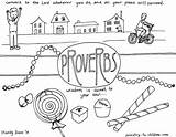 Coloring Proverbs Bible Children Pages Ministry Sheets Wisdom Sheet April Fools Books Church Activities Words Youth Colouring Soul Illustrations Based sketch template
