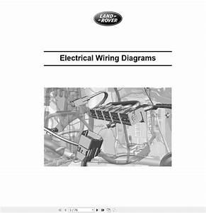 Landrover Ranger Rover 2002-2018 Wiring Diagram Full Dvd