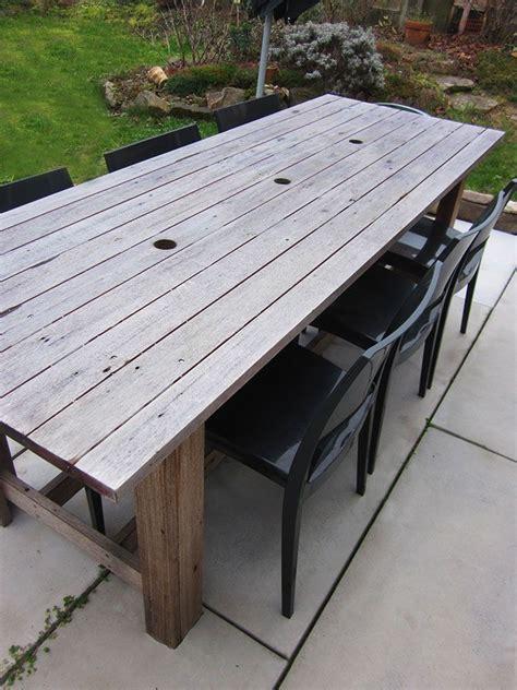 fabriquer sa table de cuisine plan pour fabriquer une table de jardin en bois maison