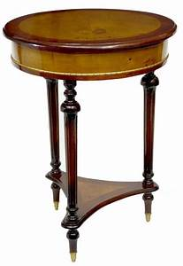 Art, Deco, Round, Side, Table, Occasional, Tables