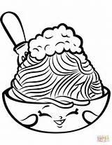 Spaghetti Coloring Shopkin Shopkins Netti Pasta Season Printable Colouring Cartoon Sheets Lovely Chelsea Characters Supercoloring Drawing Pizza Kawaii Pineapple Categories sketch template