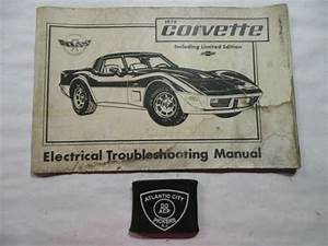 1978 Chevrolet Corvette Electrical Troubleshooting Wiring