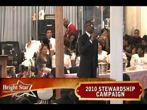 Pastor Chris Harris & Bright Star Church 2010 First Fruit ...