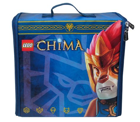 Lego Legends Of Chima Battle Case Zipbin Carry Bag Play