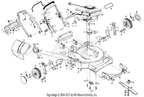 Poulan Mower Wiring Diagram by Poulan Xe750par Mower Parts Diagram For Mower Housing
