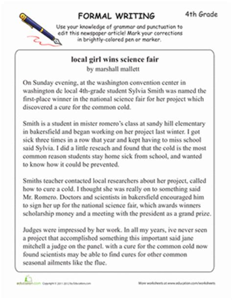 timeline template 10 points 5th grade learning formal writing worksheet education