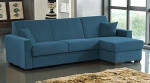 Canapé D Angle Convertible Bleu : photos canapes lits page 5 ~ Teatrodelosmanantiales.com Idées de Décoration