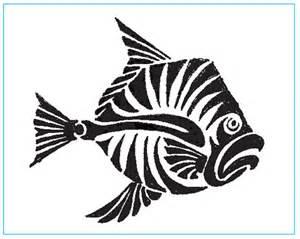 Fish Stencil
