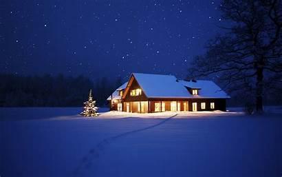 Night Winter Cool Pixelstalk Moon
