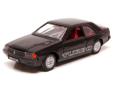 renault fuego black renault fuego turbo norev 1 43 autos miniatures tacot