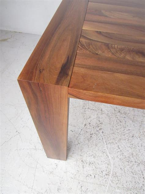 large rustic dining  conference table  sale  stdibs