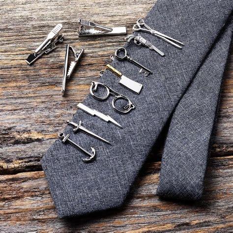 60 Cool Tie Clip Ideas - Lovely Gentleman's Option