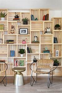23, Ways, To, Decorate, With, Wooden, Crates
