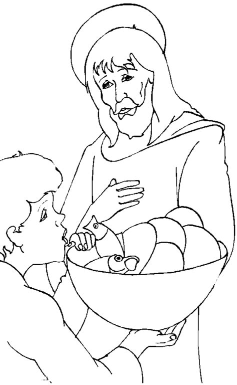 jesus   children coloring page coloring home
