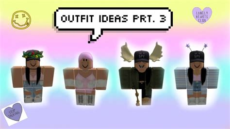 Roblox outfit ideas!! Prt. 3 (Girls edition) || Meredit... | Doovi