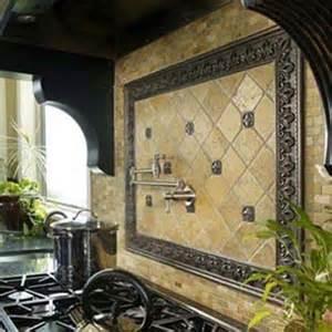 interesting functional and decorative kitchen backsplash