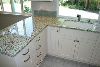 Recycled Glass Countertops San Diego by Countertop Materials For A Unique Kitchen Home Tips