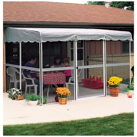 patio mate 7 panel screen enclosure home products 7 panel 45 quot patio mate screened