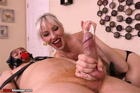 Mature Welcomes Teenage Fellow With Prick Tease