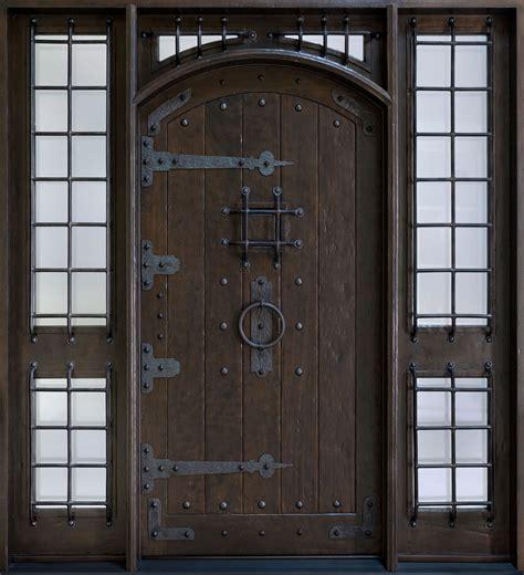 exterior front doors rustic custom front entry doors custom wood doors from