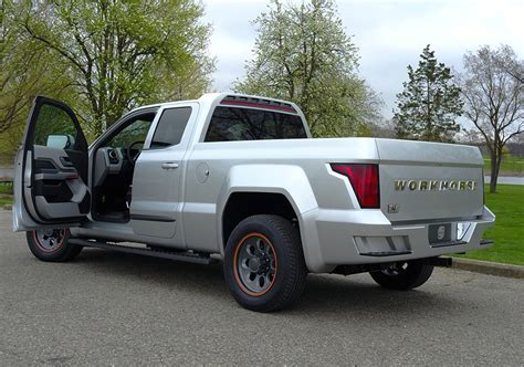 Electric Truck by Workhorse W 15 Electric Truck Goes 0 To 60 In 5 5 Seconds