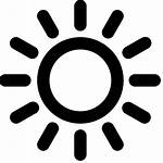 Sun Icon Transparent Clipart Pngio