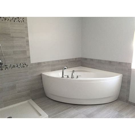 olivia   acrylic corner bathtub master bathroom