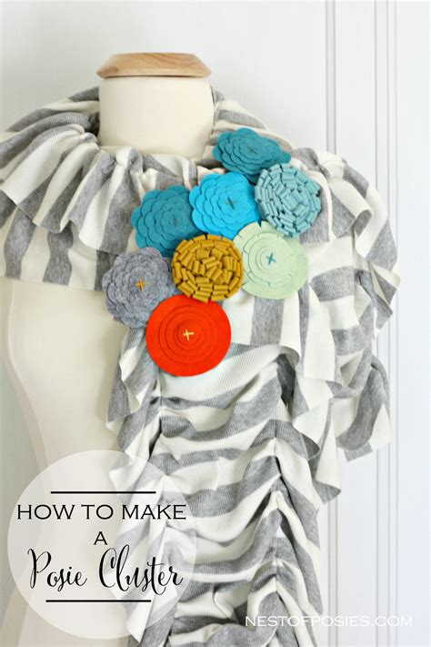 how to make posies how to make a posie cluster