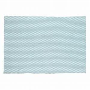 tapis en coton bleu 60 x 120 cm origami maisons du monde With tapis coton bleu