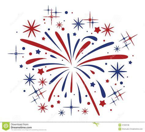 clipart fuochi d artificio scoppio dei fuochi d artificio illustrazione vettoriale