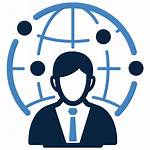 Icon Marketing Manager Management Person Virtual Clipart
