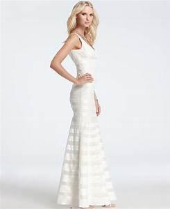 ann taylor silk georgette mermaid wedding dress in white With ann taylor wedding dress