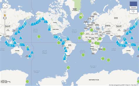 Carte Des Volcans Actifs Dans Le Monde by Le P G 233 Ologue 1 Les Volcans L Esprit Sorcier