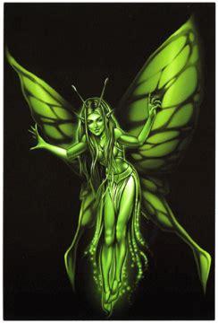 green fairy postcard ogabelcom