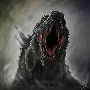 2014 Godzilla head shot by gfan2332 on DeviantArt