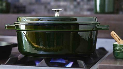 staub cocotte basil dutch cocottes qt 2l round ovens iron cast secret cooking healthy natural cooker