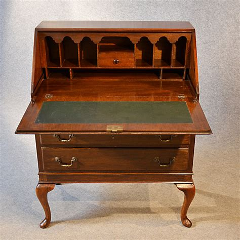 vintage bureau antique bureau writing desk mahogany antiques atlas