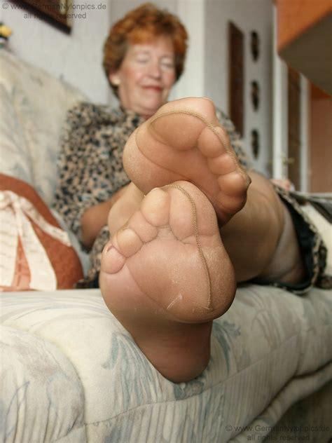 Fetish German Mature Nylon Feet 4 High Definition Porn
