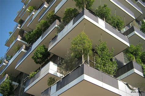 Vertical Garden Apartments In Milan