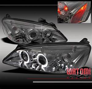 05 4dr Twin Halo Led Projector Headlight