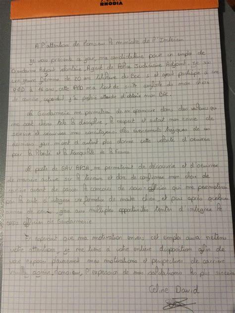 lettre de motivation page 2 cirfa forum militaire