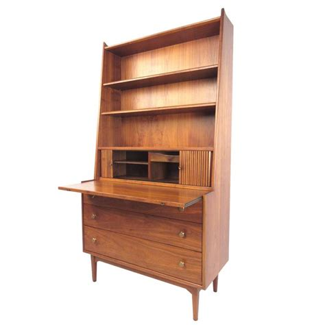mid century bookcase for sale mid century modern bookcase with writing desk by kipp