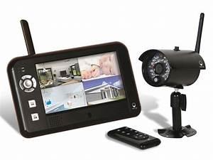 Systeme Video Surveillance Sans Fil : ce kit de vid o surveillance sans fil permet une ~ Edinachiropracticcenter.com Idées de Décoration