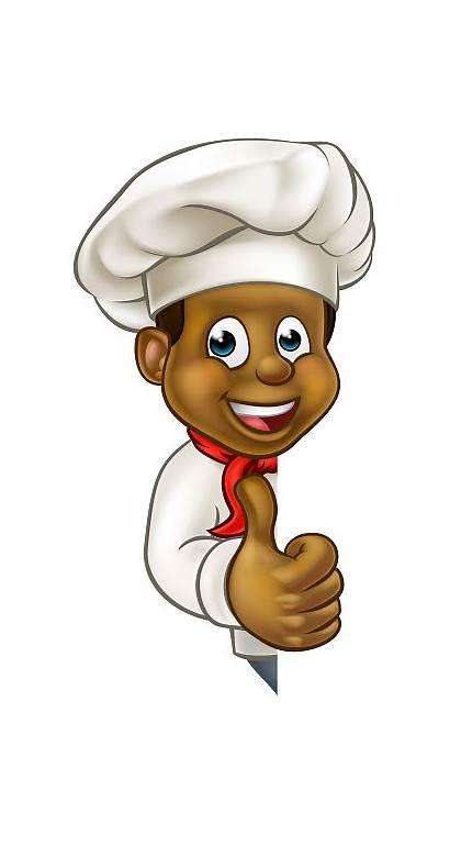 Chef Cartoon Character Vector Mascot Cook Clip