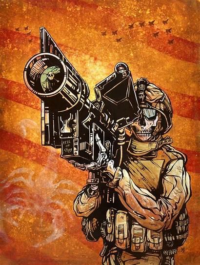 Sting Feel Military David Lozeau Dead Skeleton